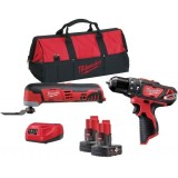 Milwaukee M12 BPP2D-402B - M12 POWERPACK