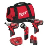 Milwaukee M12 BPP3A-202B - M12 POWERPACK
